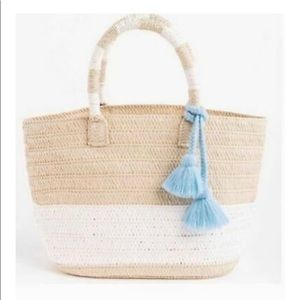 Altru woven bag great for beach purse carry all